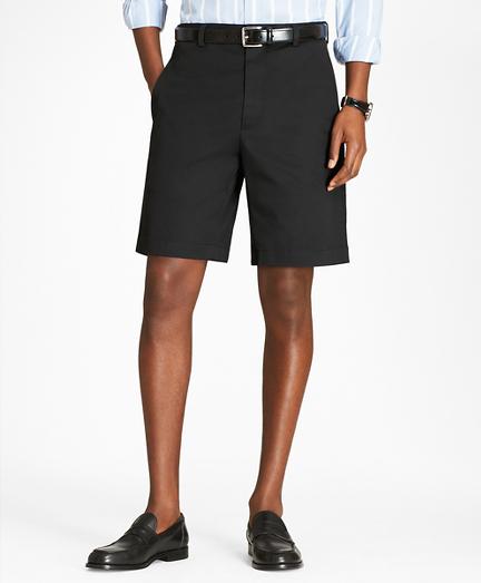 Flat Front Stretch Advantage Chino Shorts