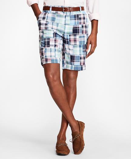 Patchwork Madras Shorts