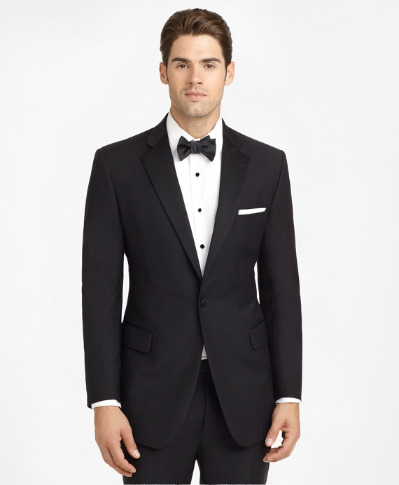 Ready-Made Regent Fit Tuxedo Jacket Black