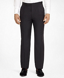 Ready-Made Regent Fit Pleat-Front Tuxedo Trousers