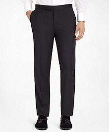 Ready-Made Regent Fit Plain-Front Tuxedo Trousers