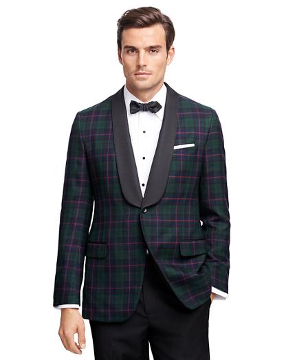 Fitzgerald Fit Tartan Tuxedo Jacket