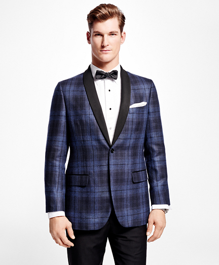 Fitzgerald Fit Windowpane Dinner Jacket