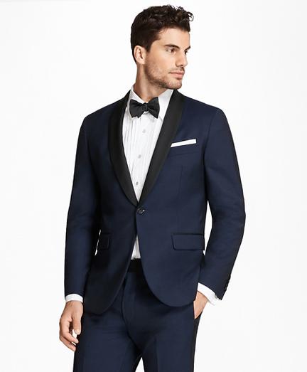 Milano Fit Shawl Collar Navy Tuxedo