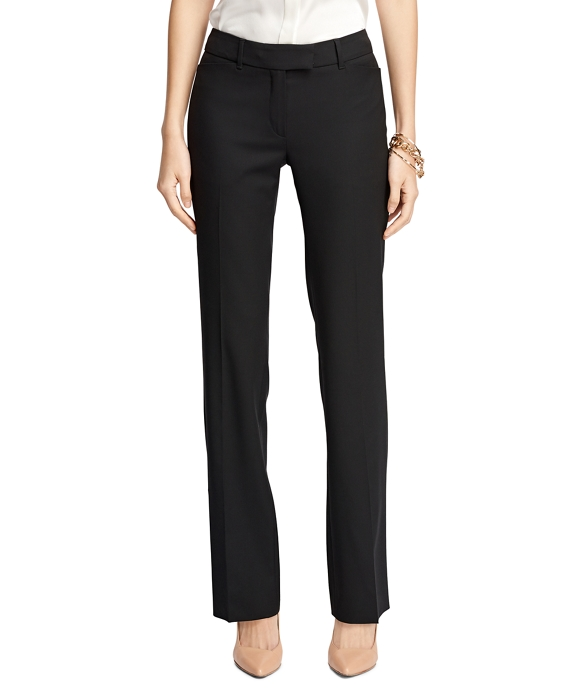 Petite Lucia Fit Wool Trousers
