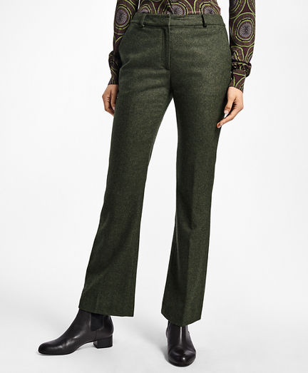 Petite Wool Twill Trousers