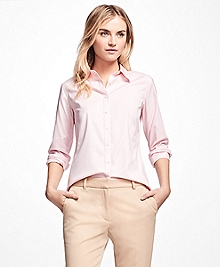 Petite Fitted Non-Iron Dress Shirt