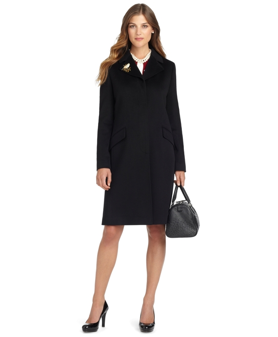 Petite Wool Coat Black