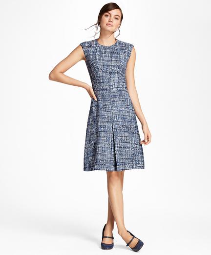 Petite Shimmer Boucle Dress
