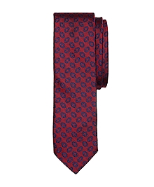 Fancy Oval Slim Tie