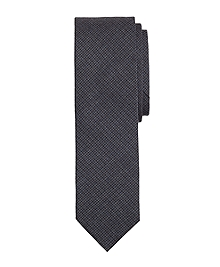Mini Check Slim Tie