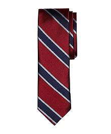 Framed BB#4 Stripe Slim Tie