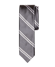 Twin Stripe Slim Tie