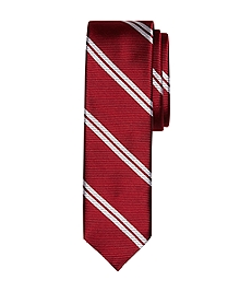 Twin Stripe Slim Tie