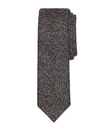 Herringbone Slim Tie