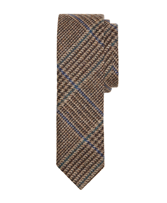 Plaid with Deco Slim Tie