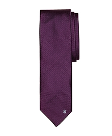 Non-Crease Solid Tie