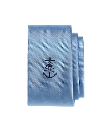 Anchor with Golden Fleece® Crossbone Slim Tie