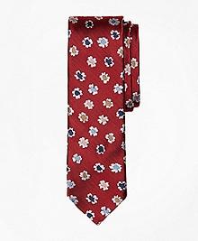 Floral Slim Tie