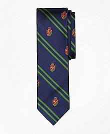 Fleece Crest Slim Tie