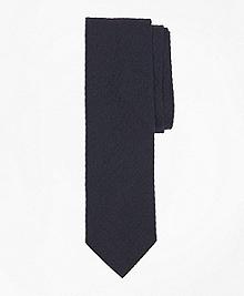 Seersucker Slim Tie
