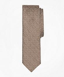 Striped Chambray Slim Tie