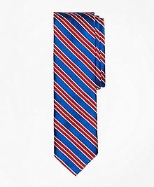 Multi-Stripe Slim Tie