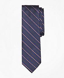 Mini BB#2 Rep Stripe Slim Tie