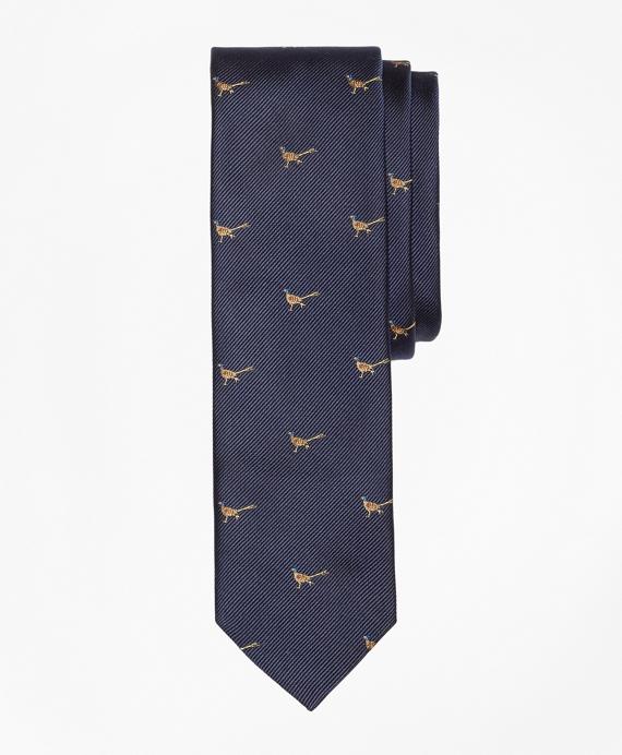 Pheasant Slim Tie