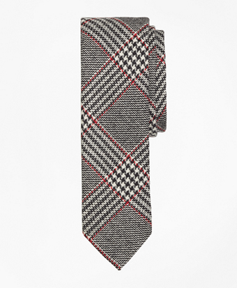 Plaid Slim Tie