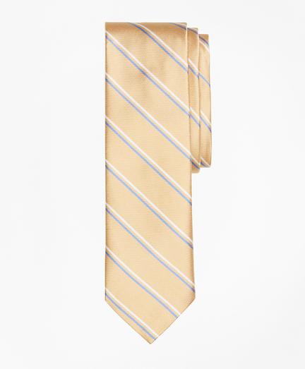 Double-Stripe Silk Tie