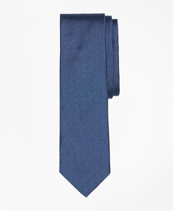 Chambray Silk Tie Blue