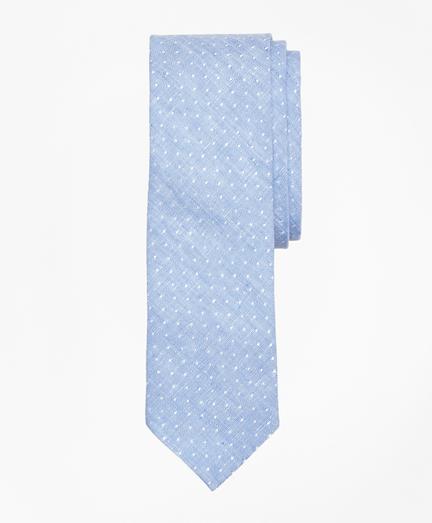 Chambray Dobby Linen Tie