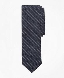Pinstripe Linen Tie