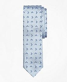 Square-Diamond Silk Tie