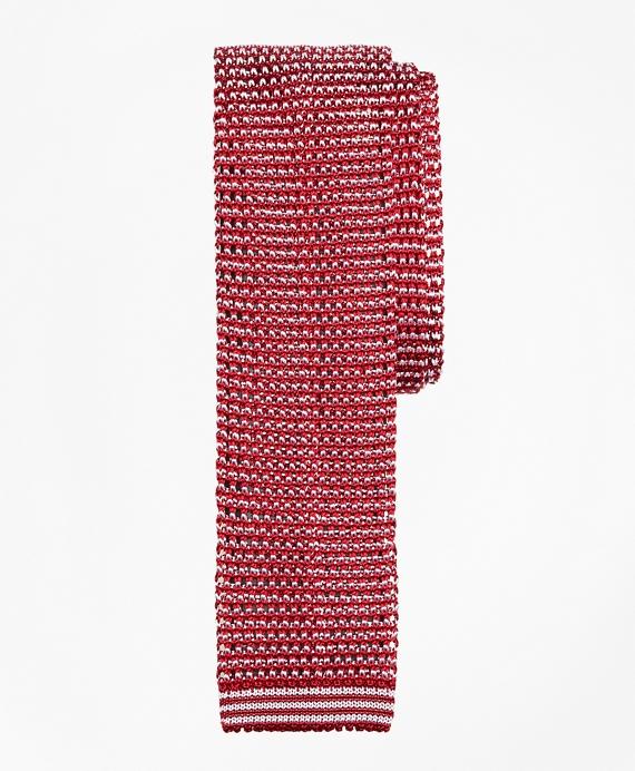 Slim Silk Knit Tie