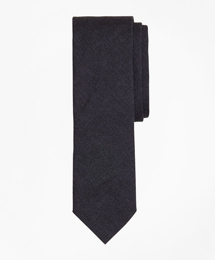 Indigo Cotton Twill Tie