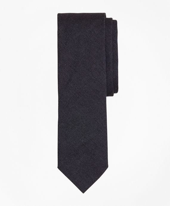 Indigo Cotton Twill Tie Indigo