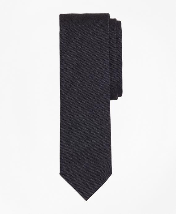 Indigo Cotton Twill Tie