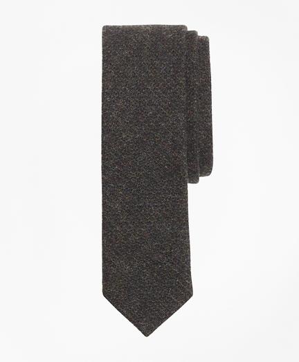 Textured Wool Tweed Tie