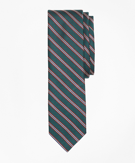 Striped Silk Rep Tie