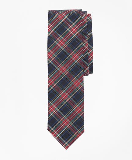 Stewart Tartan Basketweave Tie