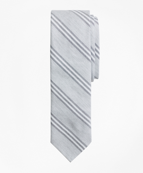 Stripe Cotton Oxford Tie