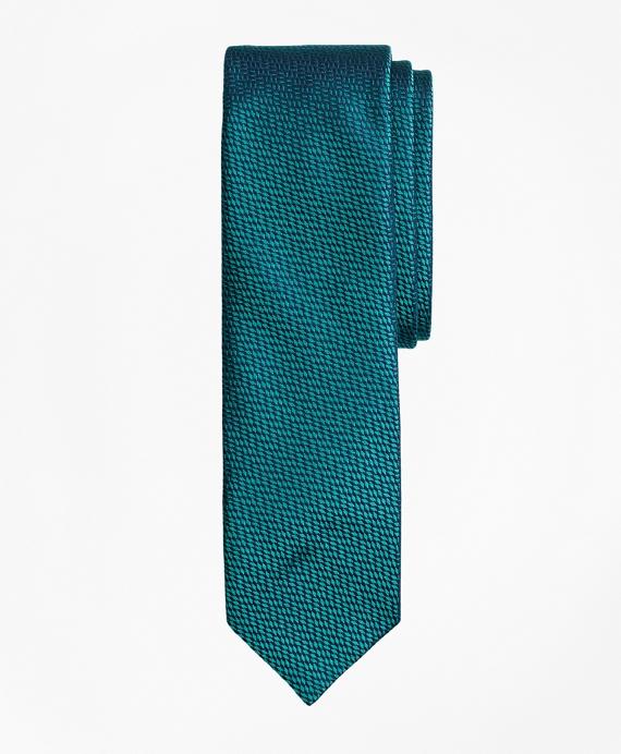 Textured Silk Jacquard Tie Teal