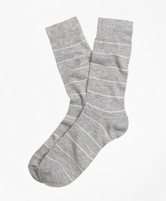 Wire Stripe Dress Socks