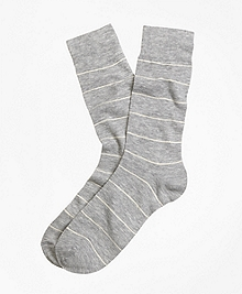 Wire Stripe Dress Socks