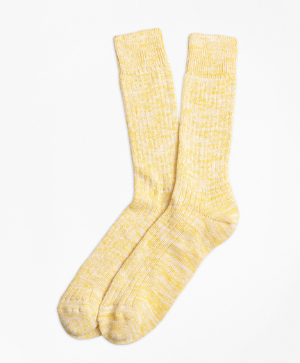 Bright Cotton Ragg Crew Socks