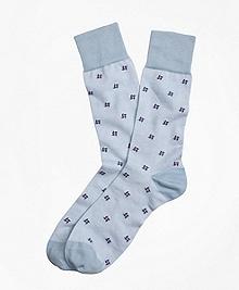 Pinwheel Crew Socks
