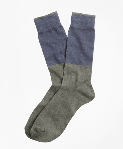 Color-Block Crew Socks