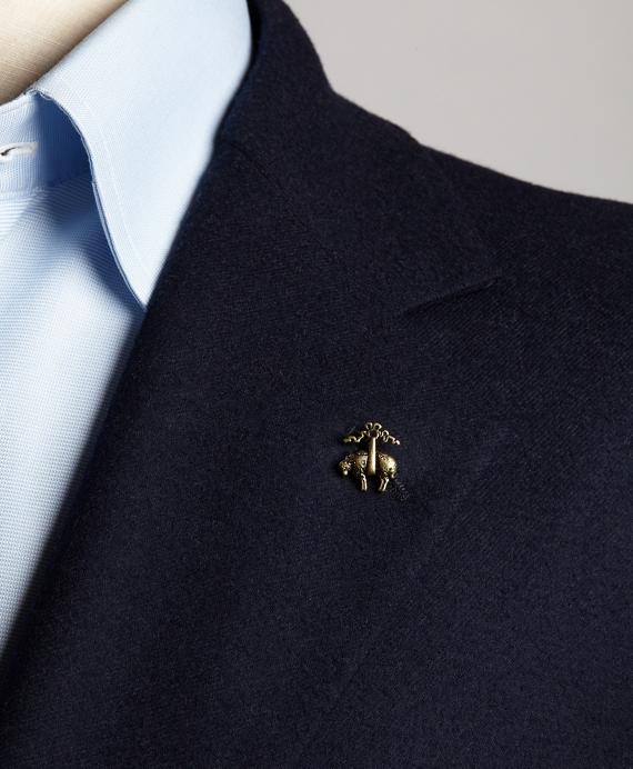 Golden Fleece Lapel Pin Brooks Brothers
